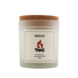 Brasa Scented Soy Wax Candle-Vana Candles