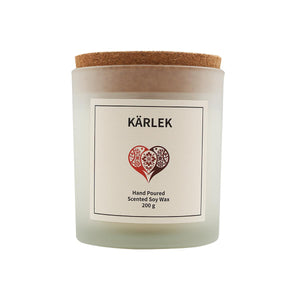 Open image in slideshow, Kärlek Scented Soy Wax Candle-Vana Candles