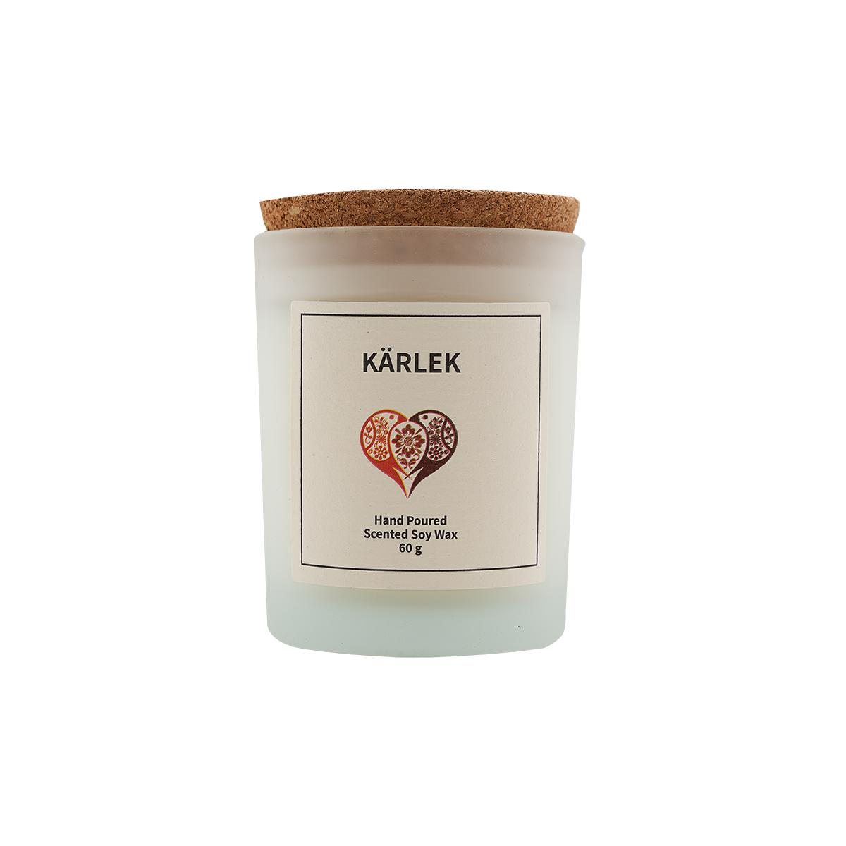 Kärlek Scented Soy Wax Candle-Vana Candles
