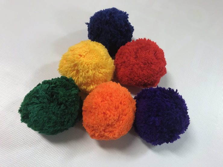 Fleece Balls - Pack of 6