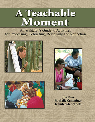 A Teachable Moment: A Facilitators Guide to Activities for Processing, Debriefing, Reviewing and Reflection
