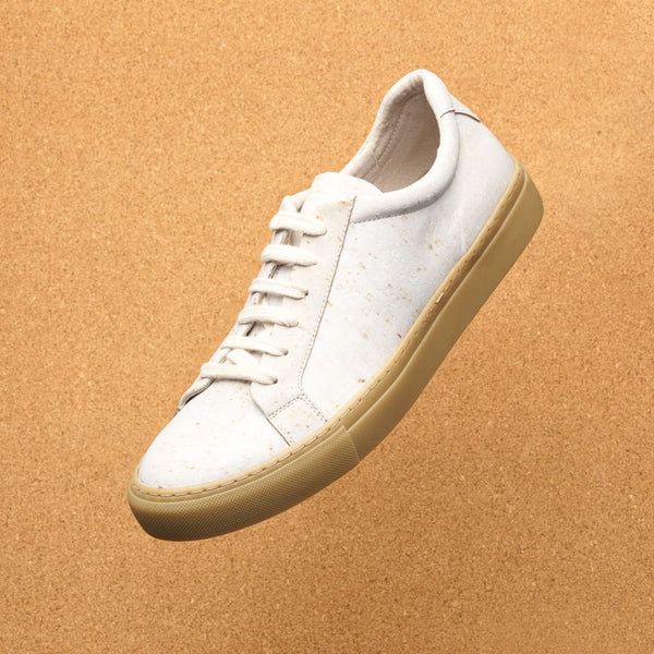 Women's Cream Vegan Cork Shoes