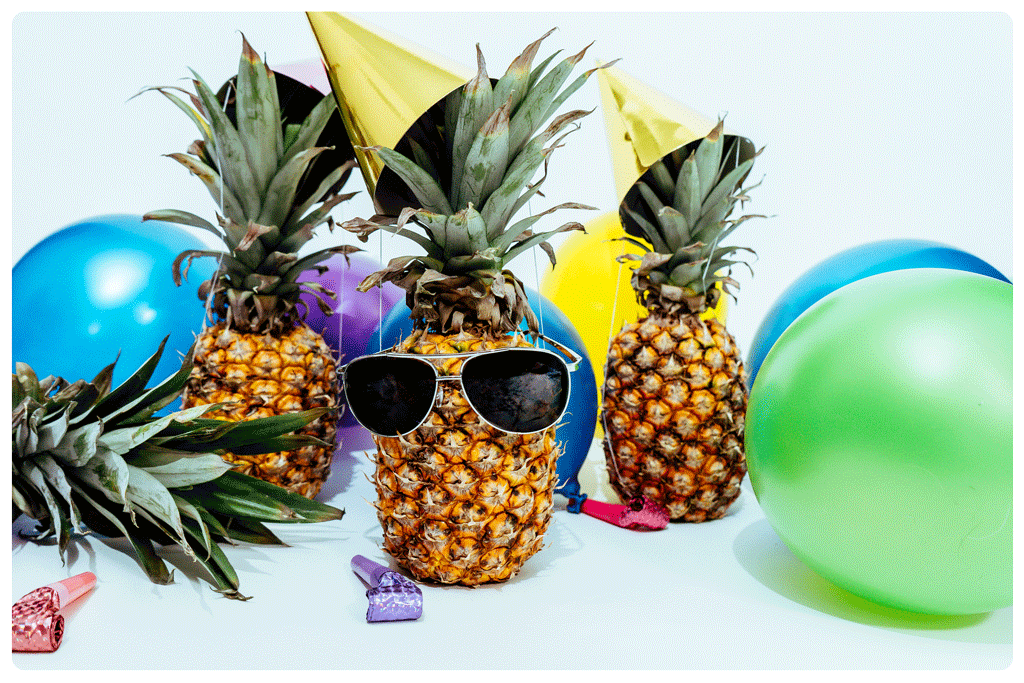 Pineapple celebration