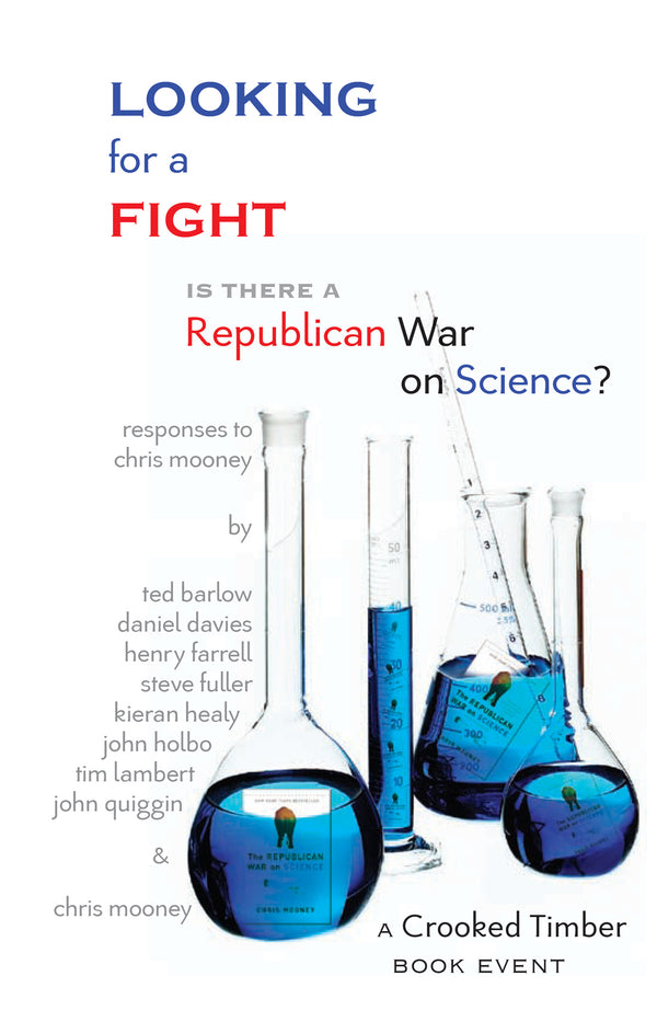 Looking for a Fight: Is There a Republican War on Science?