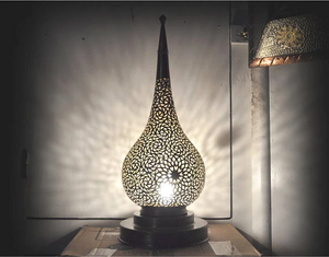 The Moroccan Handmade brass lamp