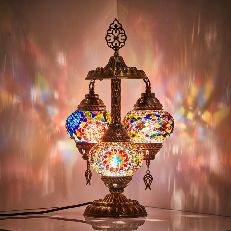 The Bohemian Turkish Table Lamp
