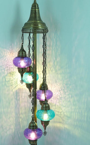 Amazing Floor Turkish lamps