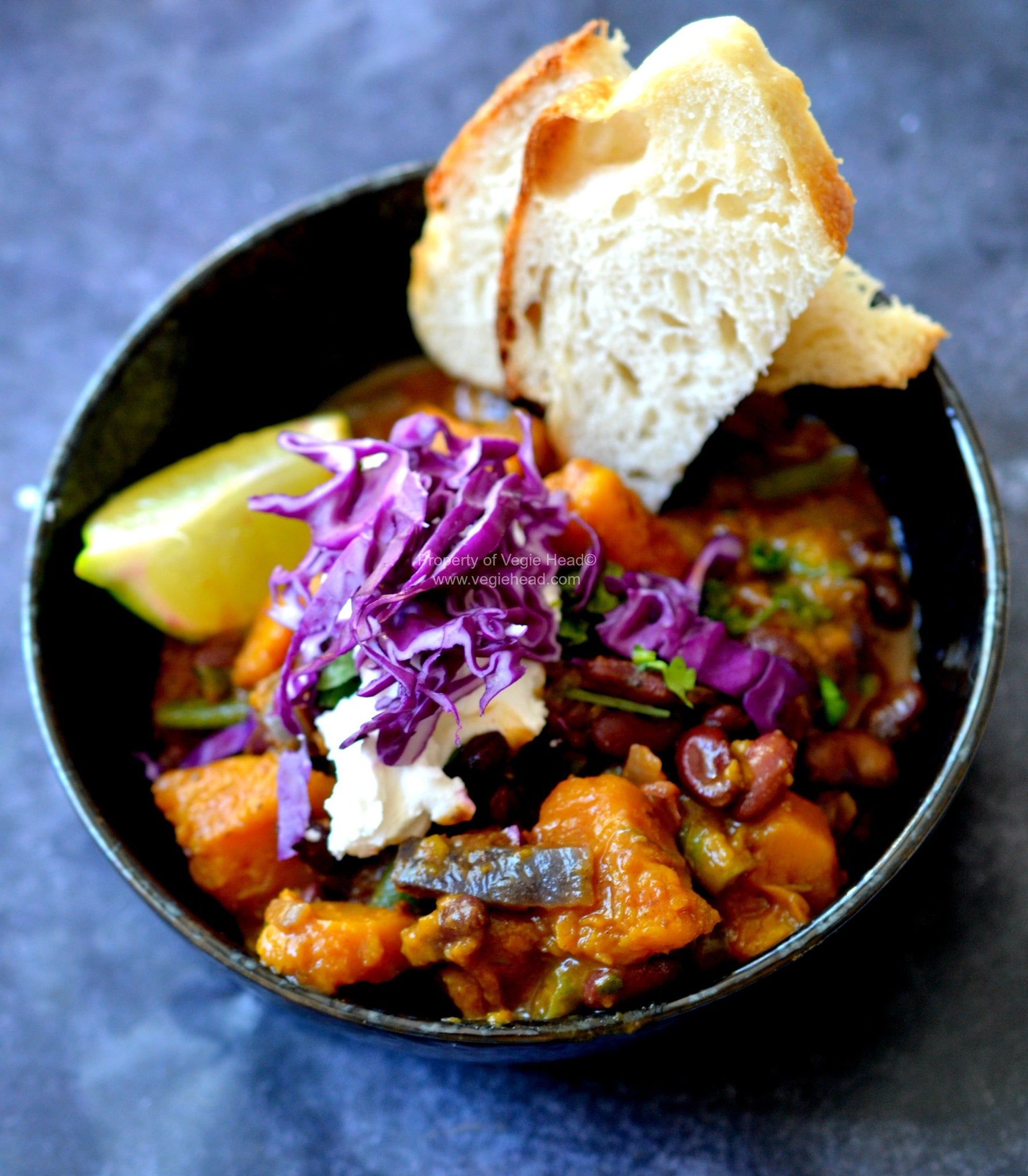 Chilean Pumpkin, Kidney Bean and Ancho Chilli Stew…