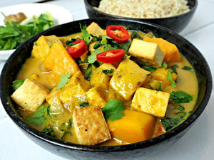 Tofu and Pumpkin Lemongrass Curry