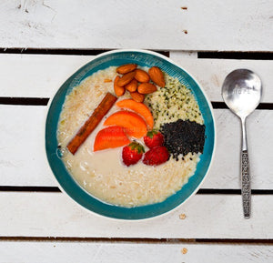 Nourishing Brown Rice Breakfast Bowl…