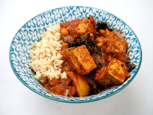 Campfire Tofu Curry