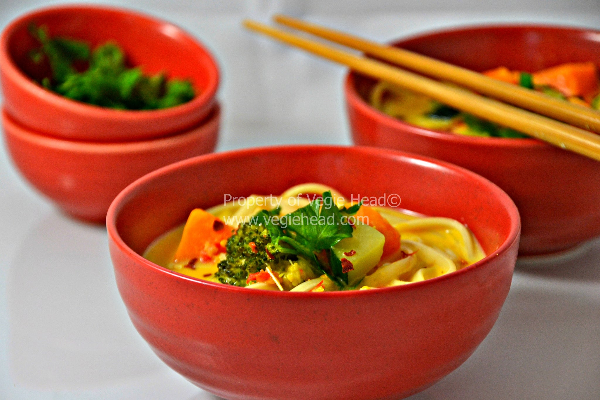 Vegetable Curry Laksa….