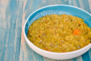 Nourishing Green Soup; Ayurvedic Mung Bean Soup