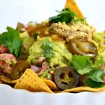 Fully Loaded Nachos/Walnut Cheese….