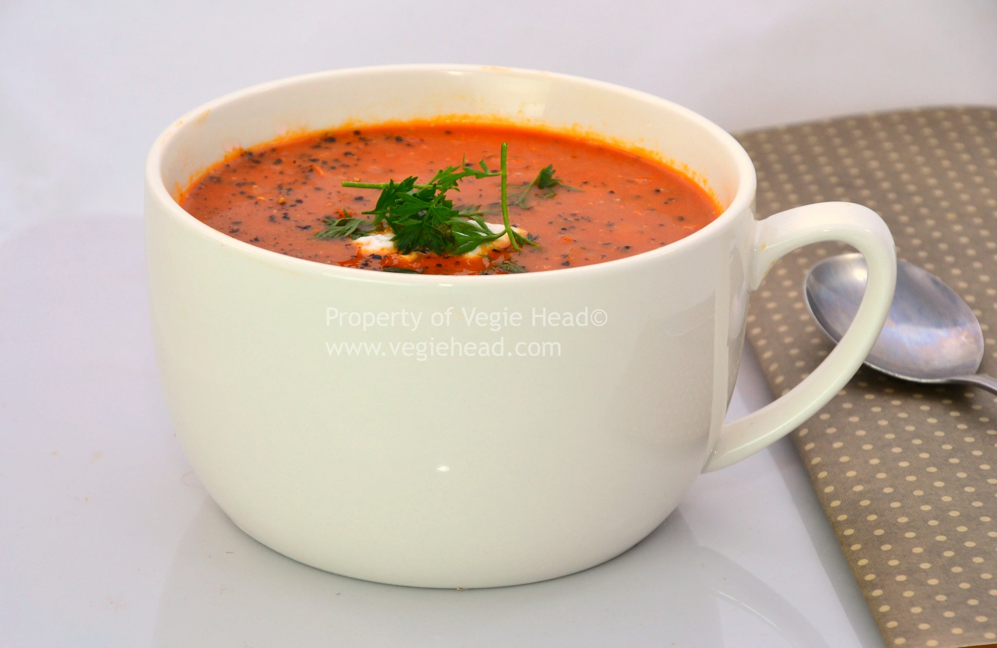 Spicy Tomato Soup…