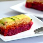 Vegan Terrine…Zucchini, Beetroot and Pumpkin Terrine with Cashew Cheese