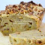 Walnut, Banana and Passionfruit Bread….