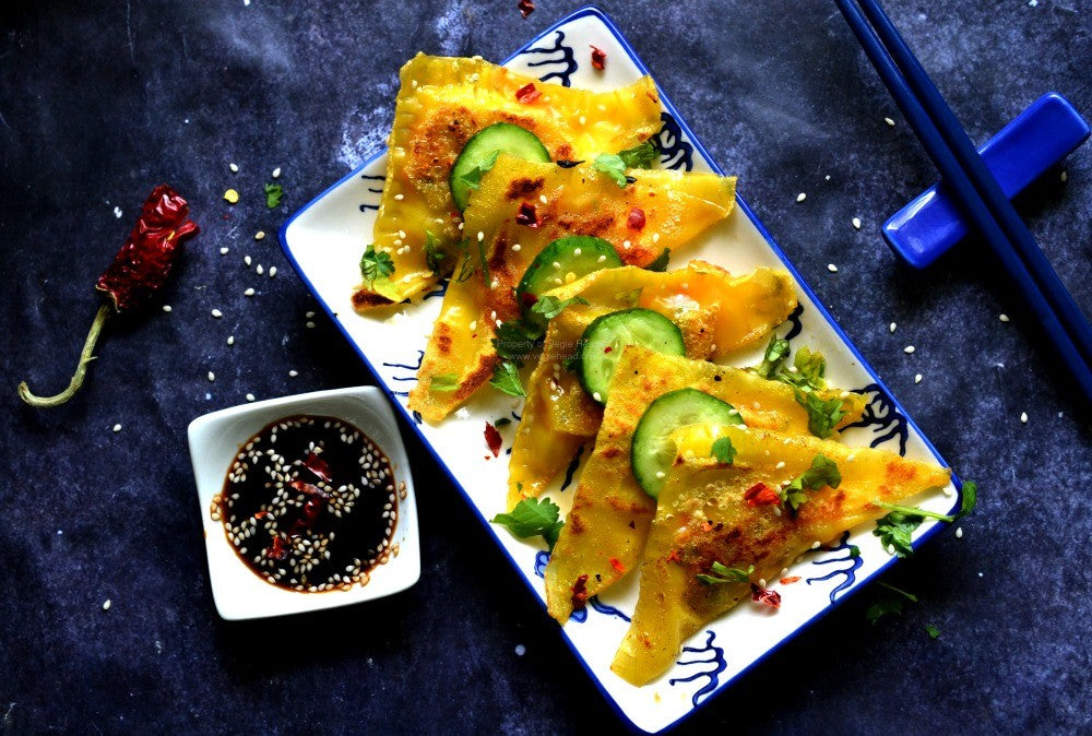 Spicy Vegetable Dumplings…