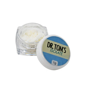 DR. TOM'S 1g Pure CBD Isolate