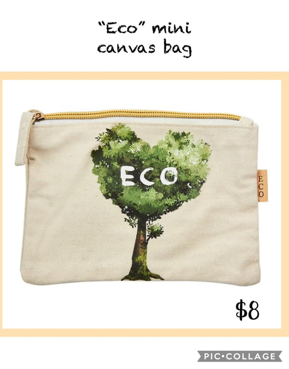 Eco Mini Canvas Bag