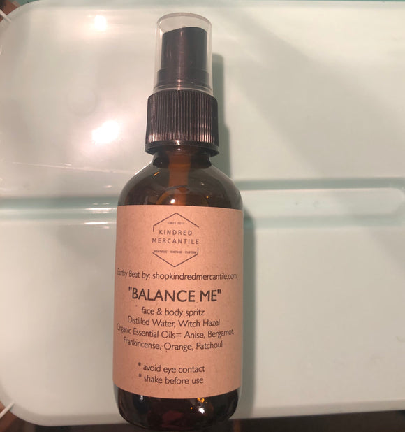 "Natural face & body spritz ""Balance Me"""