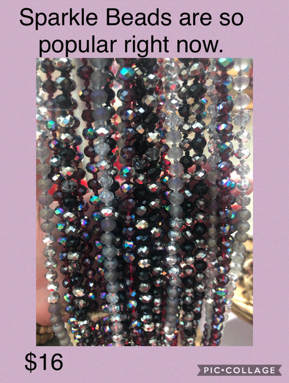 Sparkle Long Beads