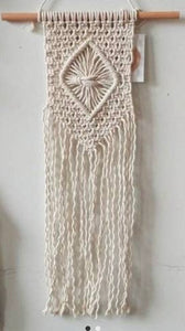 Macrame Diamond wall banner (small)
