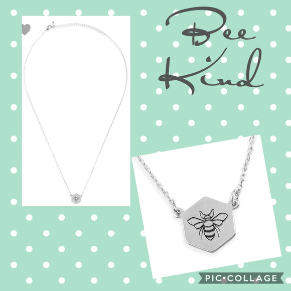 Bee Kind Necklace (minimalist style)