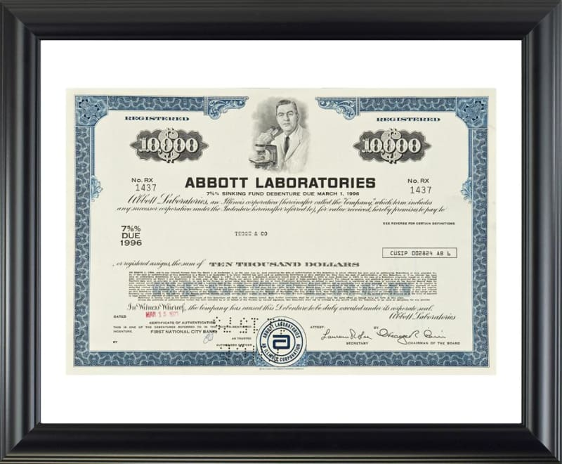 Abbott Laboratories - 20x24 - printed images