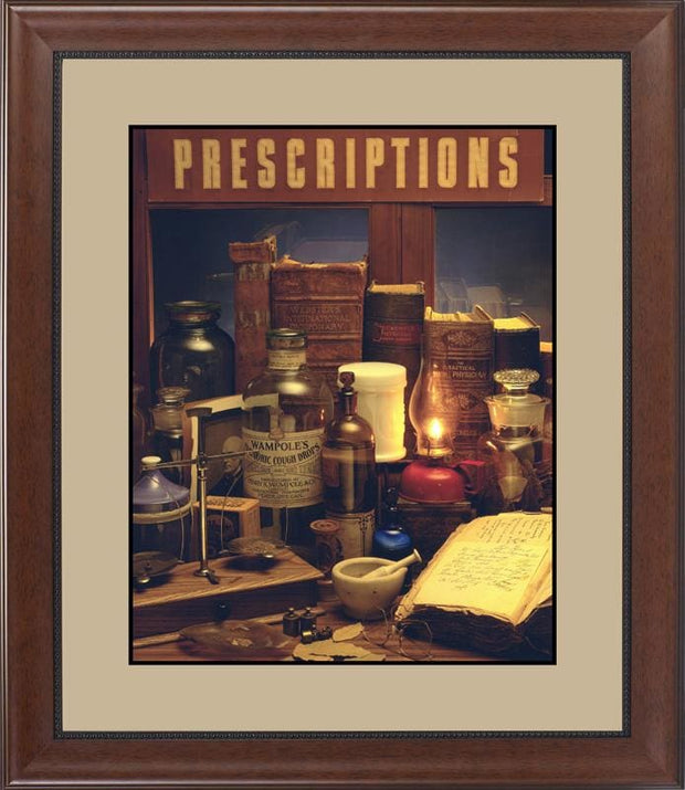 Apothecary 1893 - printed images