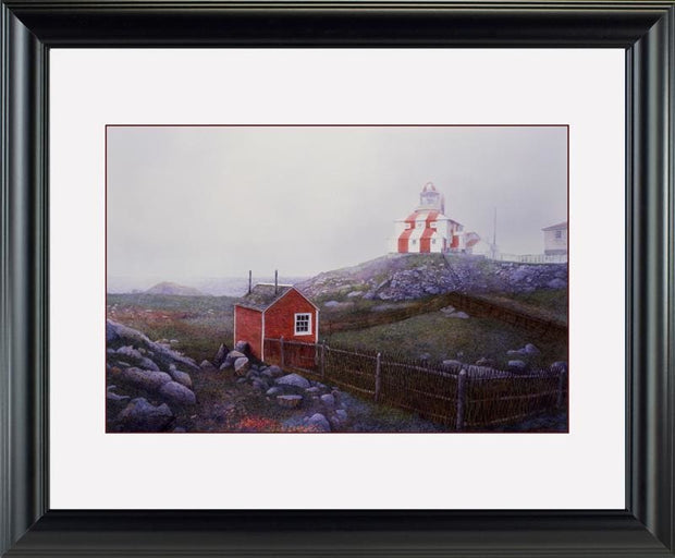 Bonavista Light - watercolors