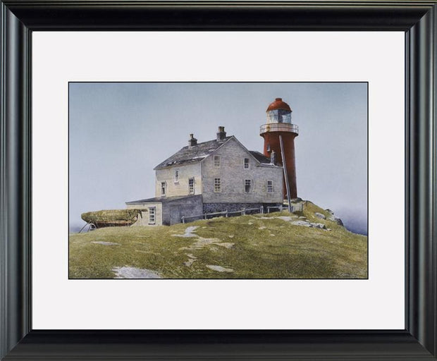 Ferryland Light - watercolors