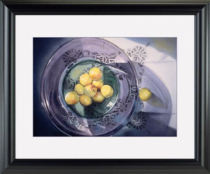 Granny Smiths Apples - watercolors