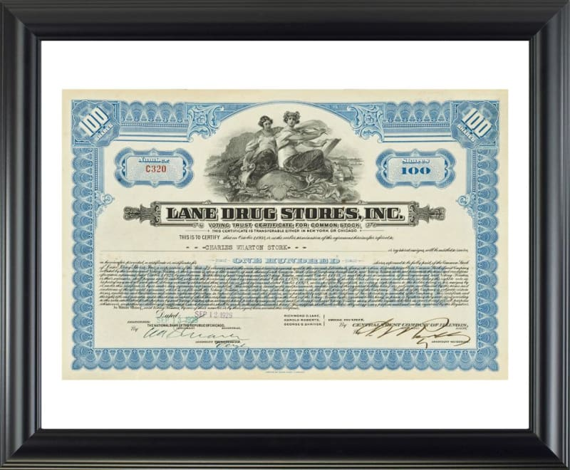 Lane Drug Stores Inc. - printed images