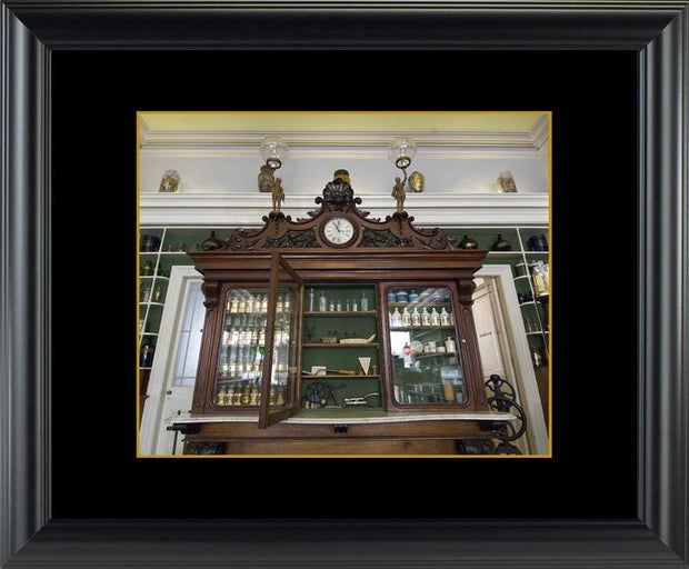 Niagara Apothecary Ornate Cabinet - printed images