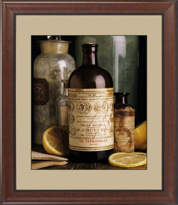 Oil of Essences Citronella - printed images