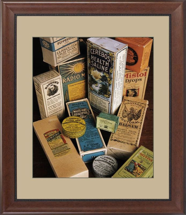 Patent Medicines-Cerebos - printed images