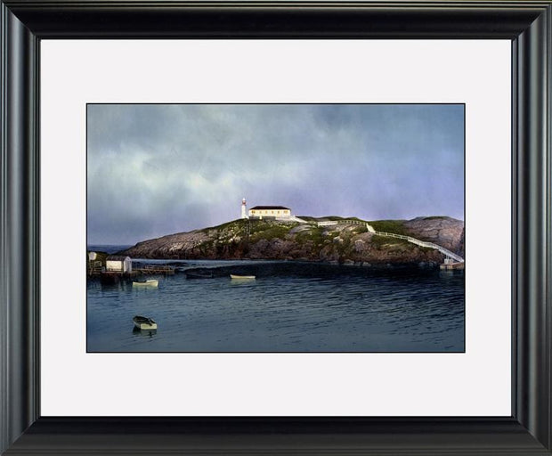 Port aux Basque - watercolors