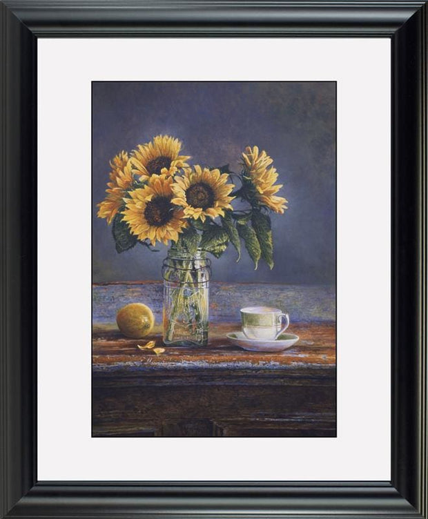 Sunflowers - watercolors