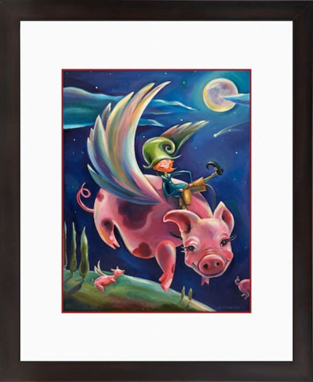 The Flying Pig - printed images