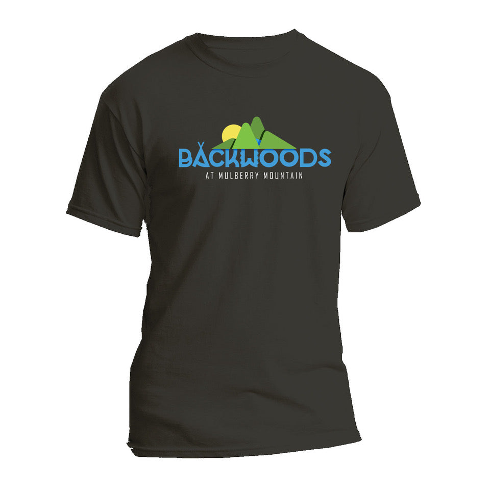 Backwoods at Mulberry Mountain Official 2020 Logo T-Shirt