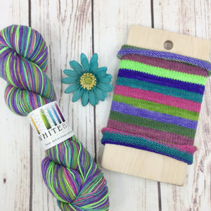 Nevertheless, She Persisted - hand-dyed self-striping sock yarn