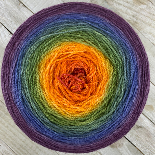 Autumn rainbow gradient - 2000 yards