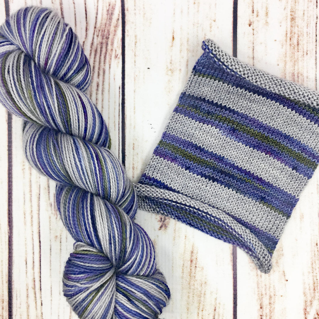 No Spare Planet - hand-dyed self-striping sock yarn