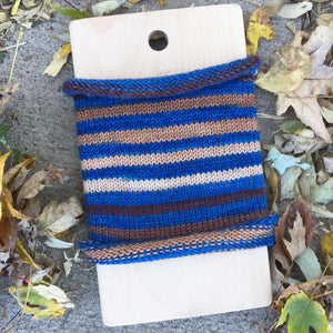 We The People - hand-dyed self-striping sock yarn