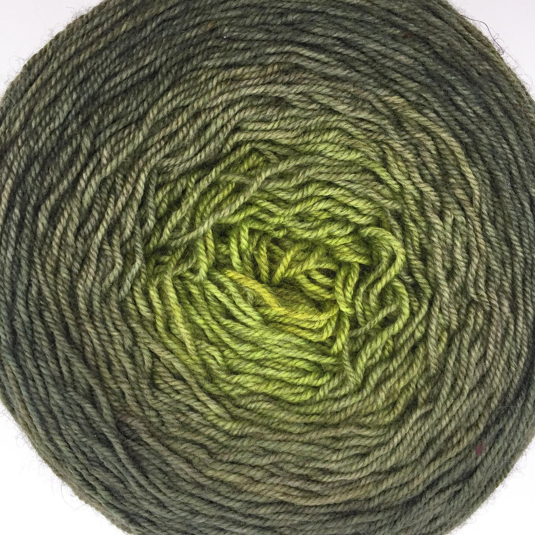 Gold to green to olive - 630 yards
