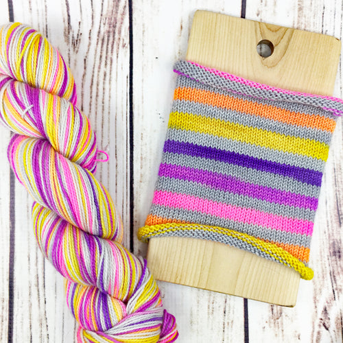 May The Odds Be Ever In Your Favor - hand-dyed self-striping sock yarn