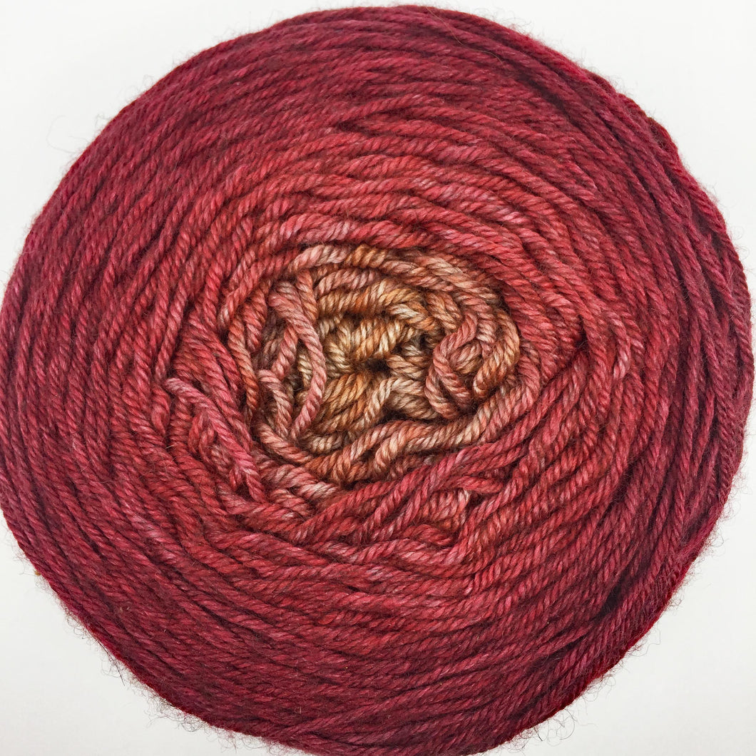 Red to mustard DK - 435 yards