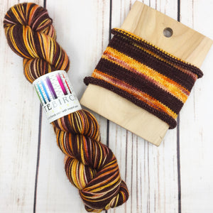 Reap What Is Sown - hand-dyed self-striping sock yarn