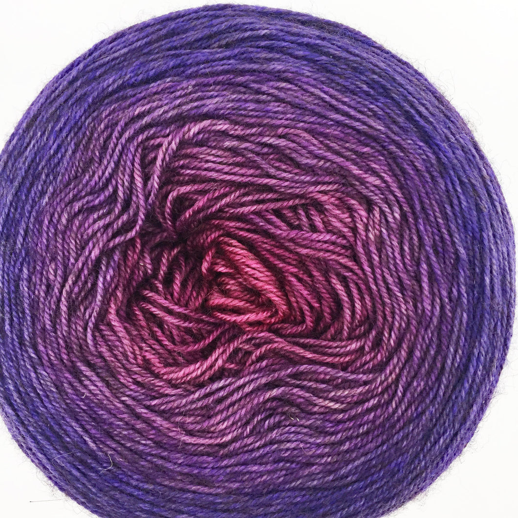 Orchid to purple to blue-purple - 435 yards